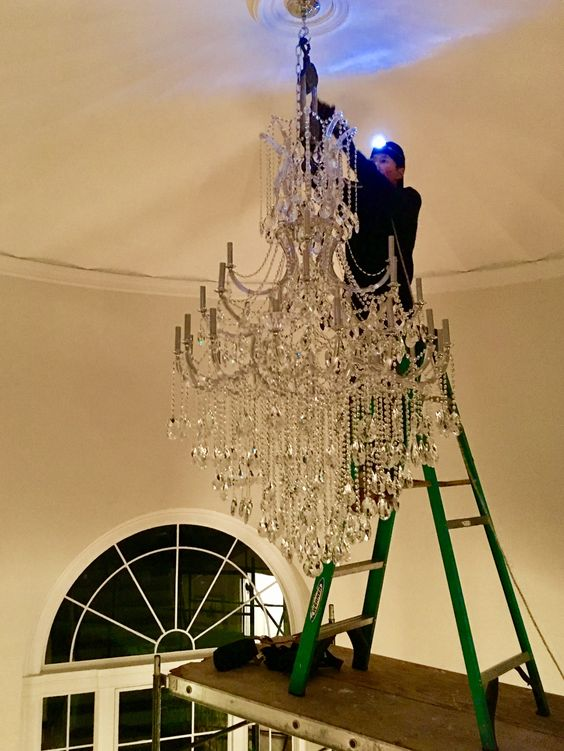 Chandelier Installation Electrician